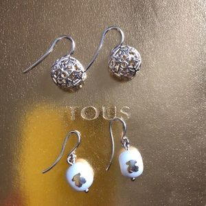Tous earring bundle